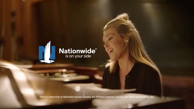 Nationwide commercial featuring Rachel Platten